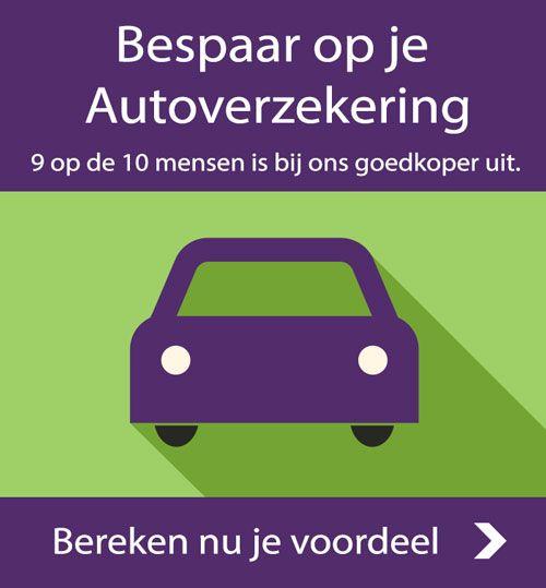Bespaar nu op je autoverzekering